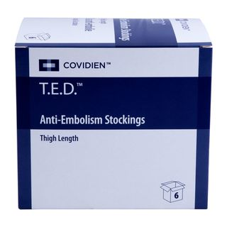 TED Anti Thrombose Str. o.Insp.gr./lang  WHI 3856  2 ST PZN 03628207