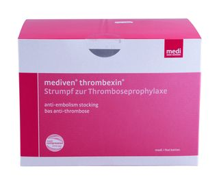 Thrombexin Anti-Thrombose-Strumpf oberschenkell. Gr.M 5x2 ST